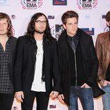 Kings of leon en los MTV EMA