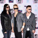 Thirty Seconds to Mars llegan a los MTV Europe Music Awards
