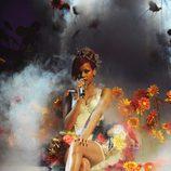 Rihanna actúa en los MTV EMA