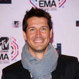 Jaime Cantizano en los MTV EMA 2010