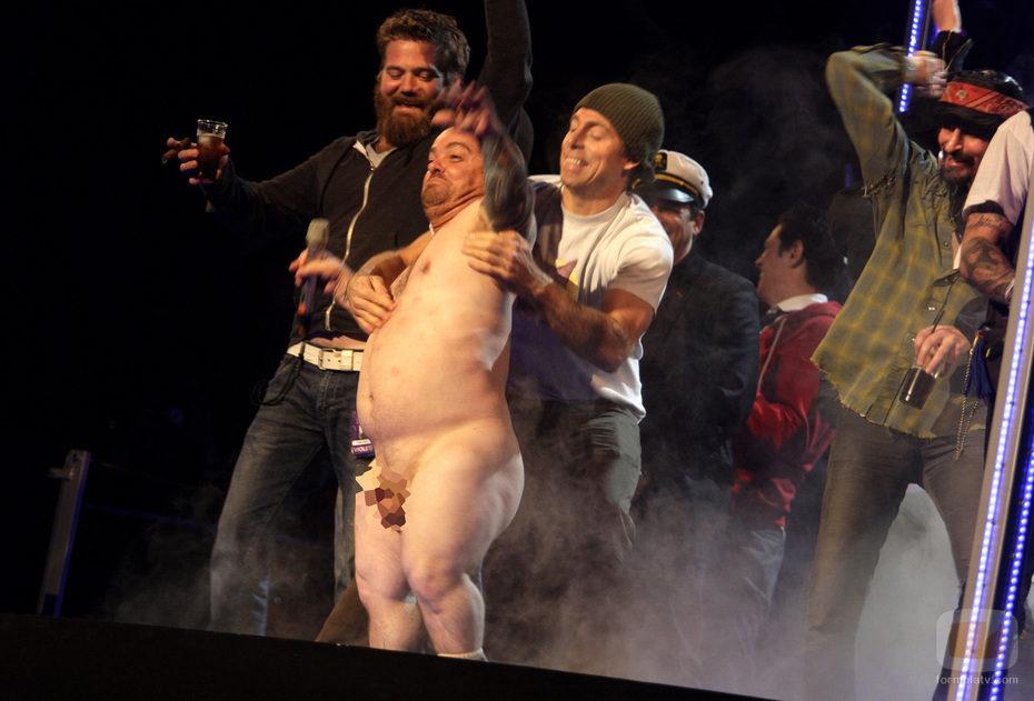 Wee-Man de Jackass desnudo