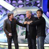 Emilio Estévez, Martin Sheen y Pablo Motos