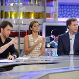Pablo Motos, Eva Mendes y Will Ferrell