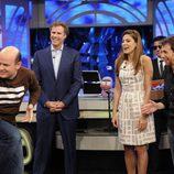 Eva Mendes y Will Ferrell en 'El hormiguero'