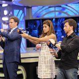 Will Ferrell y Eva Mendes en 'El hormiguero 2.0'
