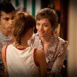 Ruth, Román y Clara en 'FoQ'
