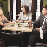 Katheryn Winnick junto a Emily Deschanel y David Boreanaz