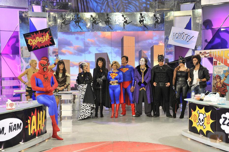 Los superhéroes de 'Sálvame'