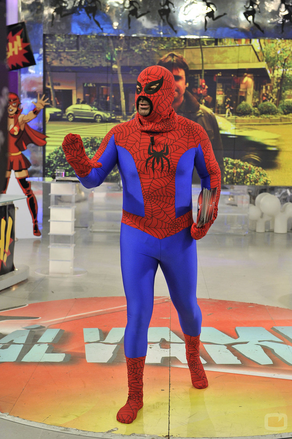 Jorge Javier Vázquez, de Spiderman