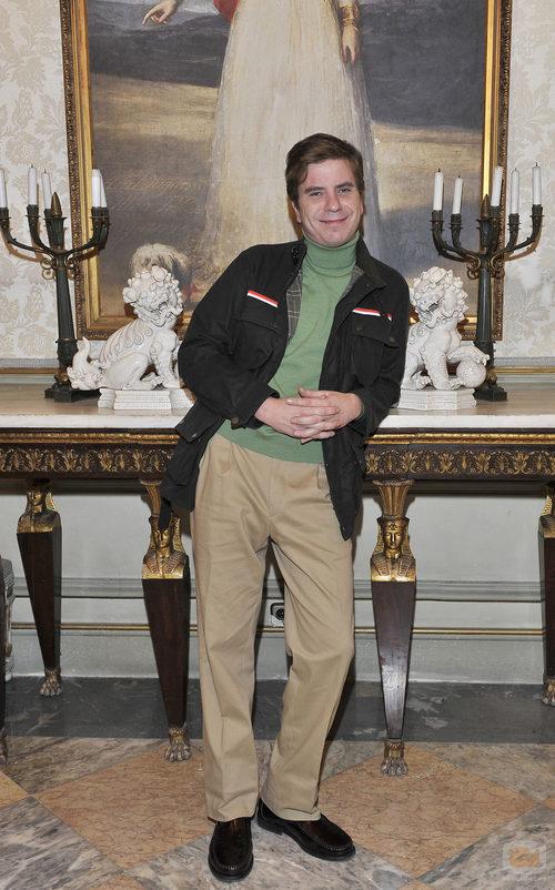 El actor Javier Collado en 'La Duquesa'