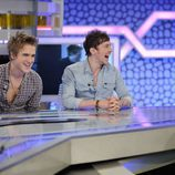 Tom Fletcher y Danny Jones en 'El hormiguero'