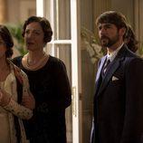 Alejandra (Verónica Sánchez), Leocadia (Cristina de Inza) y Fernando (Félix Gómez)