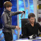 Justin Bieber bromea con Pablo Motos