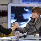 Justin Bieber y Pablo Motos