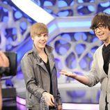 Justin Bieber con Piedrahita