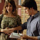 Yon González y Ana Risueño
