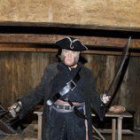 Aitor Mazo es el Capitán Bocanegra en 'Piratas'
