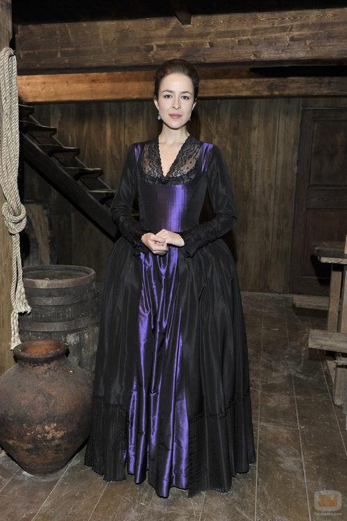 Silvia Abascal, una aristócrata en 'Piratas'