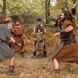 El gladiador Leukon pelea con Sandro