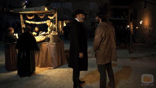 César Bravo y Lobo discuten en 'Tierra de Lobos'