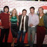 Los protagonistas de 'Gominolas' en la presentación de la serie