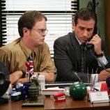 Steve Carell y Rainn Wilson en 'The Office'