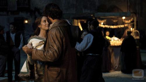 César Bravo baila con Almudena Lobo