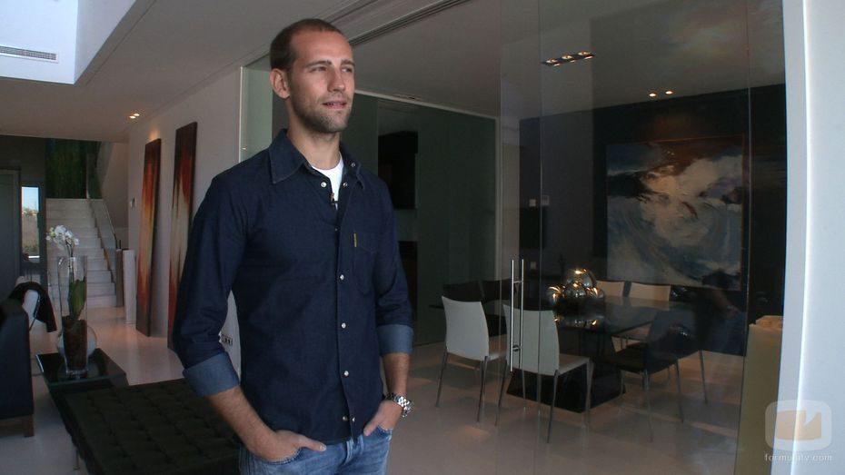 Gonzalo Miró muestra su casa