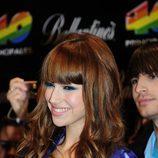 Úrsula Corberó en los Premios 40 2010