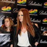 Ana Polvorsa en los Premios 40 2010