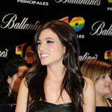 Vanesa Saez en los Premios 40 2010