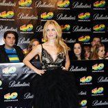 Vanesa Romero en los Premios 40 2010