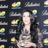 Cher en los Premios 40 2010