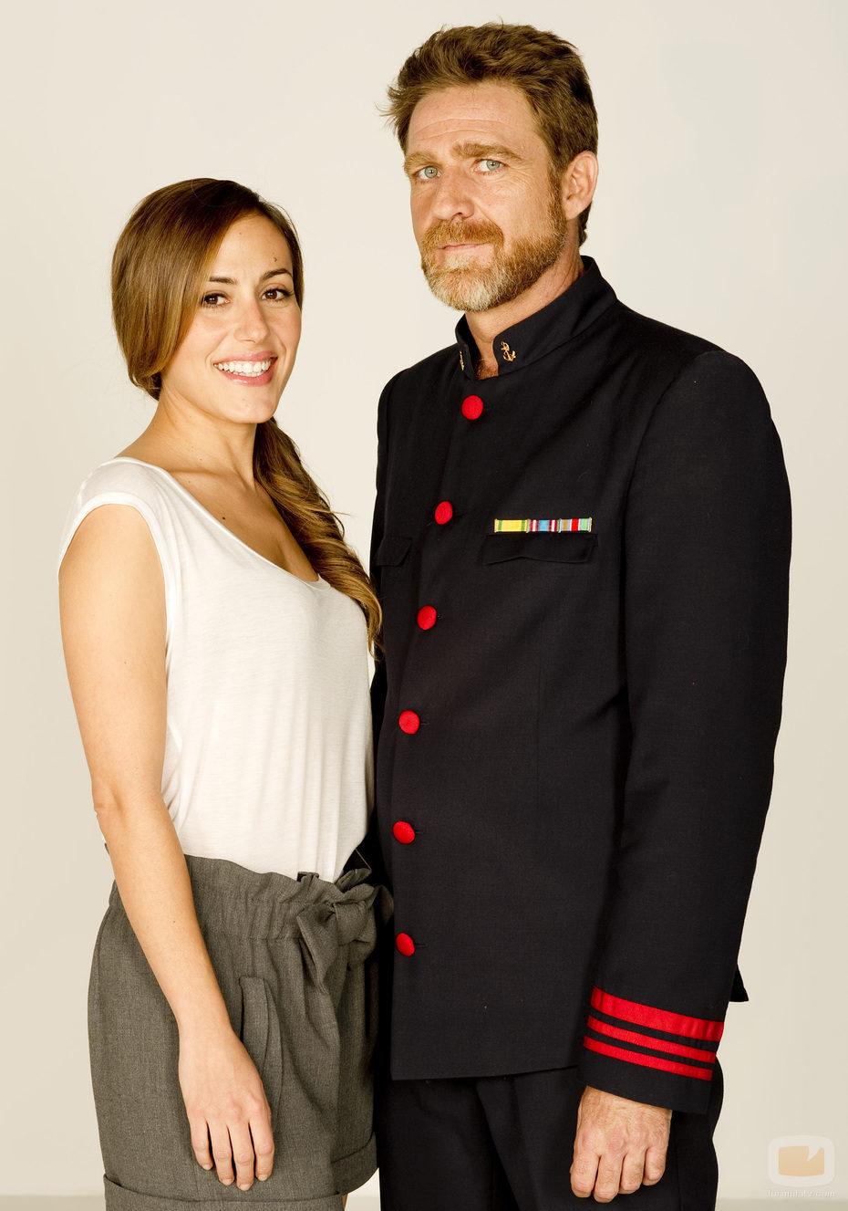 Juanjo Artero junto a Irene Montalà