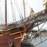 Proa del galeón de la serie 'Piratas'