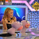 Kylie Minogue con Trancas y Barrancas