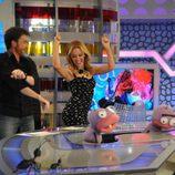 Kylie Minogue baila en 'El hormiguero'