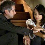 Adriá Collado y Diana Palazón en 'Gavilanes'