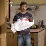 Alejandro Albarracín es Frank Reyes en 'Gavilanes'