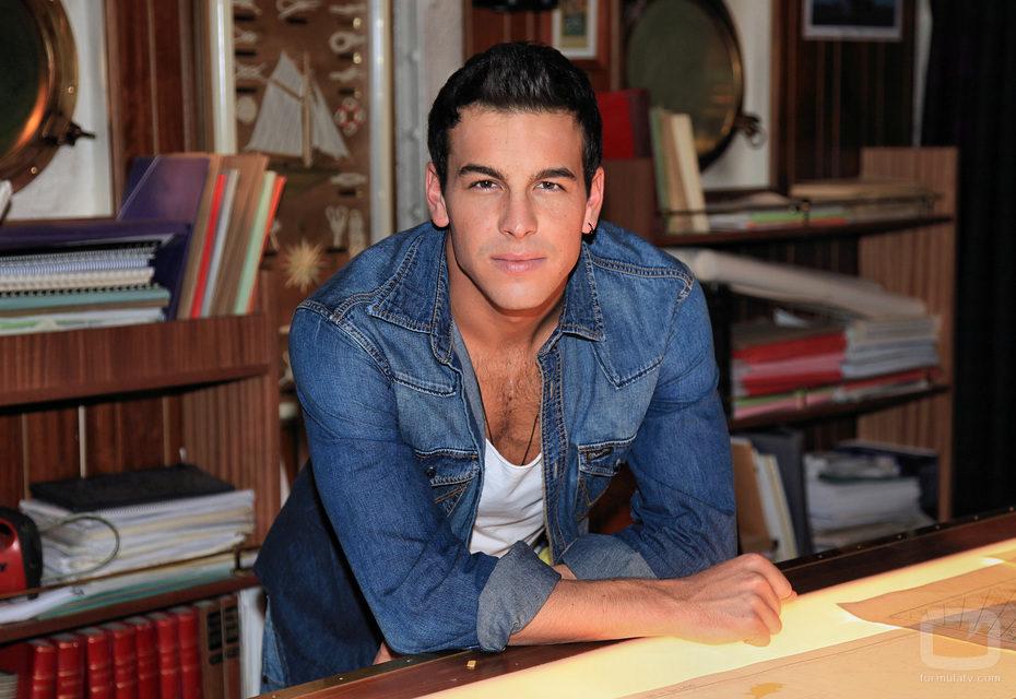Mario Casas, actor de 'El barco'