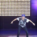 El ganador de 'Fama' bailando