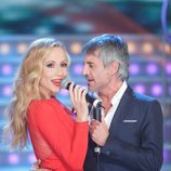 Marta Sánchez canta con Sergio Dalma