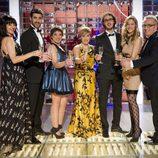 El elenco de 'El club del chiste' en Nochevieja