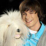 El perro Samson y Jaisiel Ramos