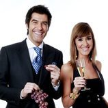 Jorge Fernández y Sandra Daviú darán las uvas en Antena 3