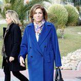 Ana Botella da el último adiós a Luis Mariñas