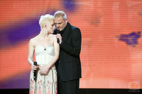 Soraya y Jordi Rebellón cantan en 'Juntos'