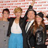 Lola González, Tania Llasera, Javier Gurruchaga y Vanexxa