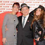 Lola González, Javier Gurruchaga y Vanexxa