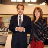 José Luis Rodríguez Zapatero y Gloria Lomana